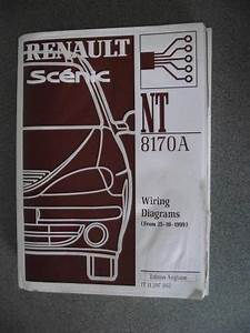 Renault Scenic Wiring Diagrams Manual 1999 Nt8170a