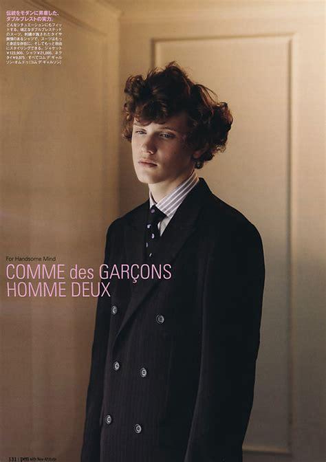 Comme Des Garcons Homme Deux Editorial In Pen Magazine