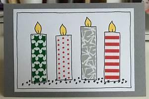 Weihnachtskarten Basteln Grundschule : weihnachtskarten mit washi tape ~ Orissabook.com Haus und Dekorationen
