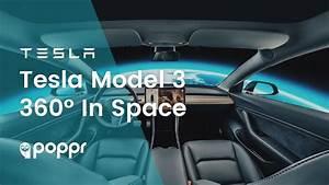 Tesla Model 3 In Space (4K 360 Video) - YouTube
