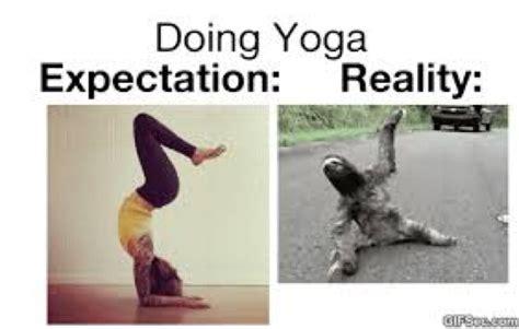 Funny Yoga Meme - a fun look at yoga