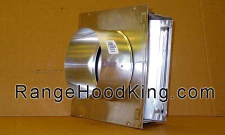 "6"" Aluminum Wall Cap for Kitchen hood kitchen exhaust"