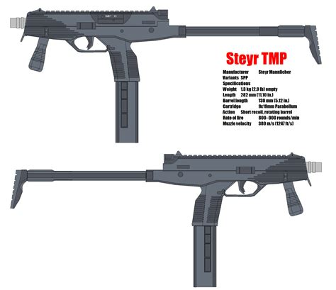 Steyr Tmp Mp9 By Bagera3005 On Deviantart