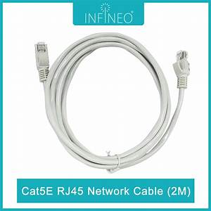 Infineo Network Cable Cat5e Rj45 Ethernet Lan  2 Meters