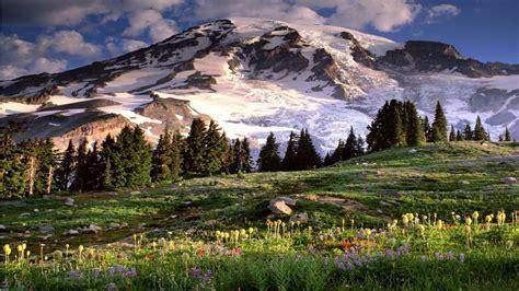 Mountain Scenes Wallpaper-wallpapersafari