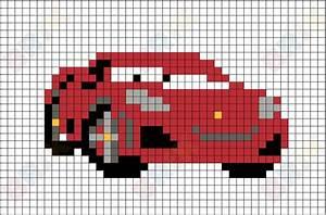 Pixel Art Voiture Facile : michael schumacher pixel art brik ~ Maxctalentgroup.com Avis de Voitures