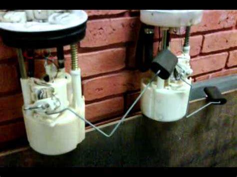 fiat punto fuel pump  float youtube