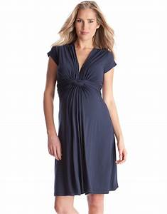 navy knot front maternity dress seraphine With robe grossesse dentelle