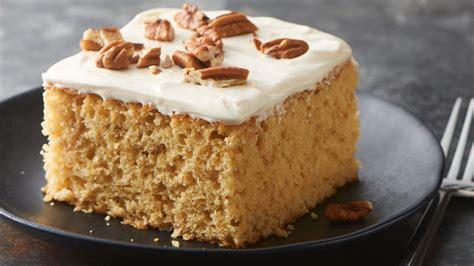 maple oatmeal cake recipe bettycrockercom