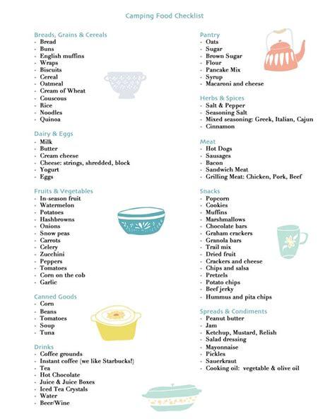 list of international cuisines cing food checklist free printable
