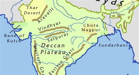 India Geographical Map  Maps Of India