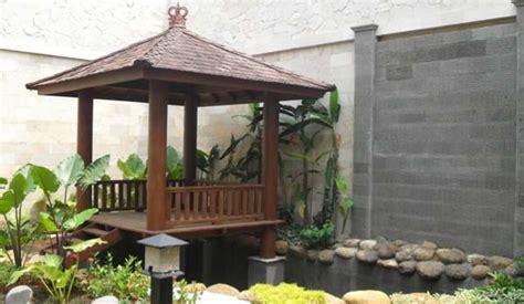 desain gazebo minimalis sederhana  nyaman rumah