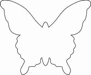butterfly template templates pinterest butterfly With butterfly paper cut out template