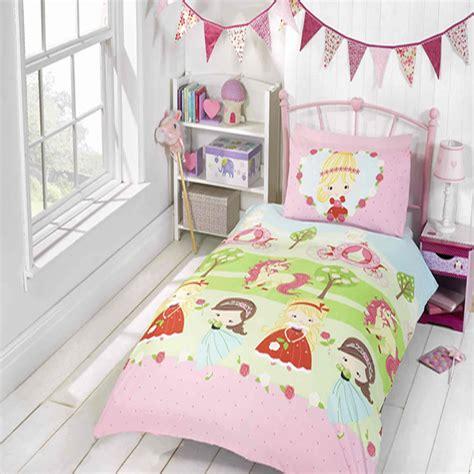 pretty princess  unicorn girls kids bedroom bedding