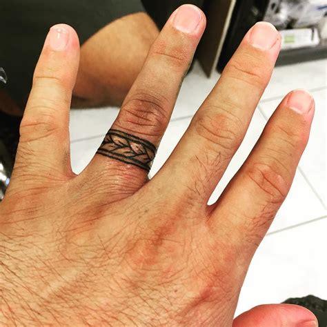 image result for wedding bands tattoos