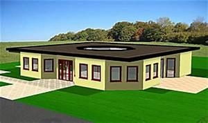 Bungalow Mit Atrium : bungalow oktaeder mit atrium 163 27 bungalow einfamilienhaus neubau massivbau stein auf stein ~ Indierocktalk.com Haus und Dekorationen