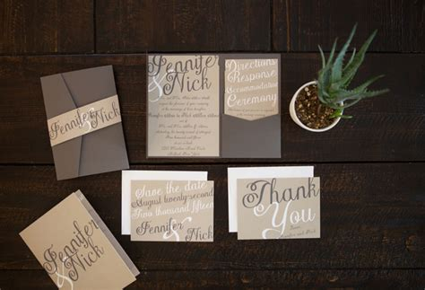 When To Design & Order Wedding Invitations