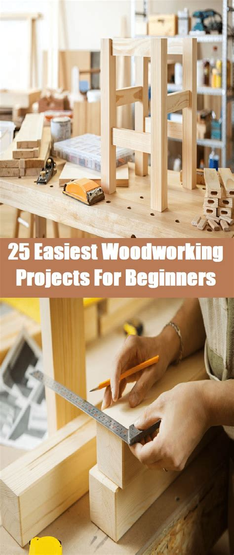 easiest woodworking projects  beginners beginner