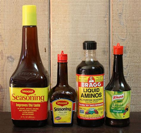 maggi seasoning sauce substitutes mainstream gluten
