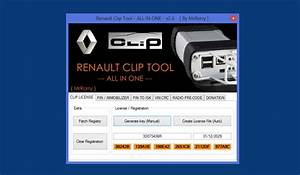 Renault Clip Tool V2 6  All In One