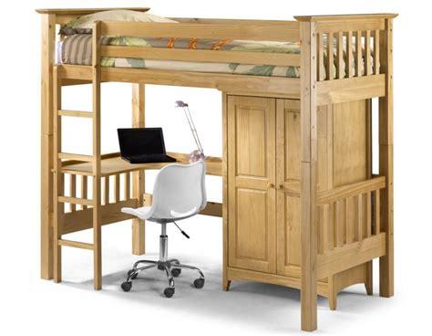 bunk bed with computer desk julian bowen bedsitter bunk bed barcelona style
