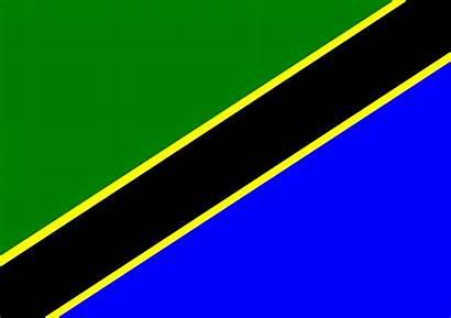 Tanzania Flag Clipart Activity Africa Flags Zanzibar