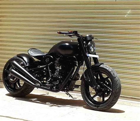 Modified Bikes Images by This Modified Royal Enfield Looks Like A Black Beast