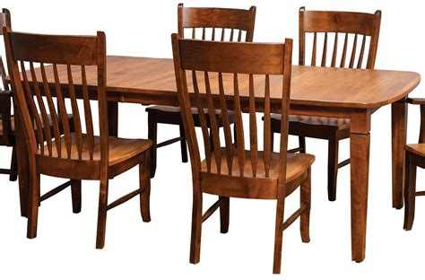 distressed rectangular dining table by daniel s amish wolf furniture