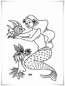 Ausmalbilder, Zum, Ausdrucken, Ausmalbilder, Meerjungfrau