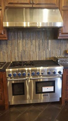 traditional thermador professional kitchen featuring
