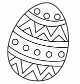 Easter Coloring Pages Pdf Egg sketch template