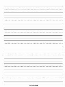 Learning to write paperkindergarten writing paper for Learning to write letters paper