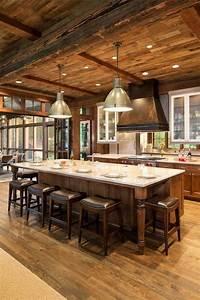 Amazing, Rustic, Lake, House, Decorating, Ideas, 20