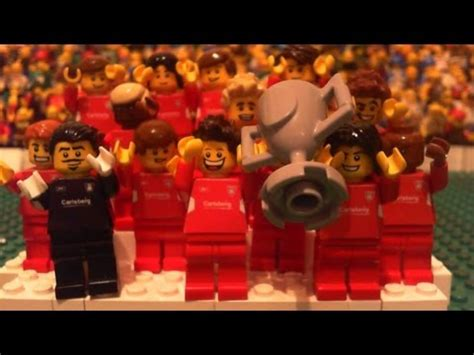 lego liverpool  ac milan  champions league final
