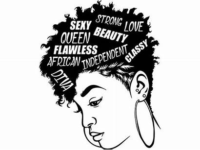 Quotes Nubian Queen African Lady Diva Hairstyle