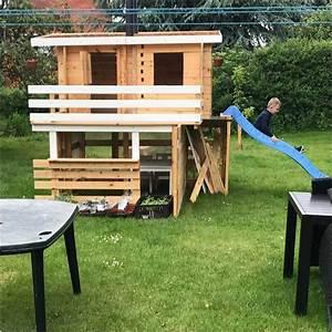 Spielhaus Holz Garten : bild spielhaus holz mit rutsche design inspiration lapazca ~ Articles-book.com Haus und Dekorationen