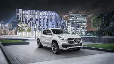 Mercedes Concept X by Mercedes Concept X Class Truck Aims To Haul Your Stuff In