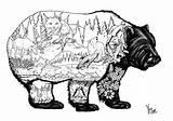 Doodles Animal Coloring Lion Sculpture sketch template
