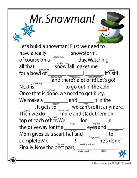winter mad libs woo jr kids activities