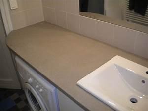 Plan De Travail Salle De Bain : plan de travail cuisine beton 4 plans de toilette pour ~ Premium-room.com Idées de Décoration