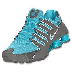 Turquoise Nike Shox Shoes