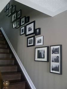 25+ best ideas about Picture Wall Staircase on Pinterest