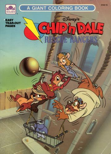 chip  dale rescue rangers coloring book wiki fandom