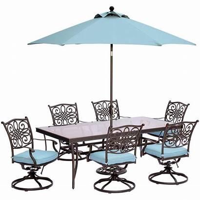 Dining Table Umbrella Outdoor Rectangular Glass Cushions