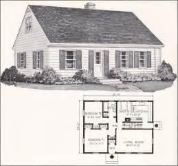 small cape cod house plans 1961 weyerhauser home plans design no 4130 cape cod