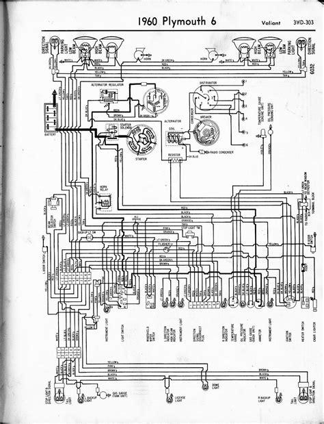 auto wiring diagram  plymouth valiant wiring diagram
