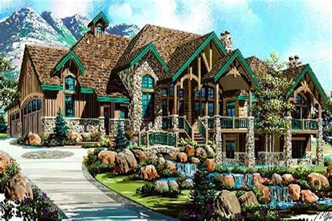how to design a basement floor plan luxury house plans rustic craftsman home design 8166