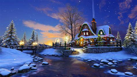 white christmas  screensaver