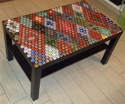 beer cap table epoxy beer caps table top epoxy