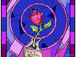 Beauty And The Beast Rose Stained Glass | www.pixshark.com ...
